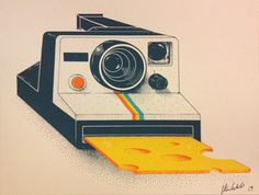 Perfect for the photographer in your life (maybe, it's you?) Cheese by jilliannickell on Etsy, $20.00