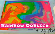 messy play quick play ideas with oobleck