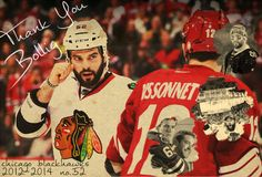 Bollig thanks for everything you did for the hawks. Gonna miss you next season.