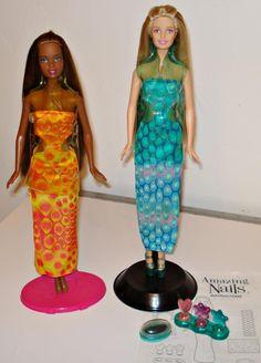 Amazing nails Barbie & Christie 2001