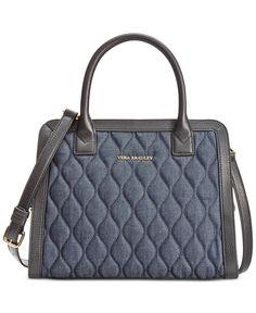 4796bd4cadb2 Vera Bradley Natalie Satchel Handbags   Accessories - Macy s. Satchel PurseSatchel  HandbagsPurses And ...