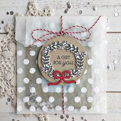 A Gift For You Treat Bag by Heather Nichols for Papertrey Ink (September 2017)