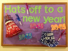 A great use of props on a bulletin board by RA Aideen!