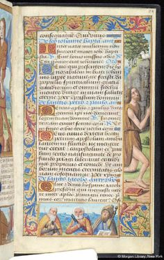 Book of Hours, MS M.7 fol. 84r - Images from Medieval and Renaissance Manuscripts - The Morgan Library & Museum