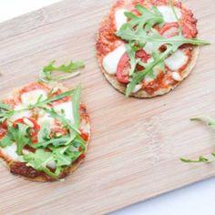 Havermout Pizza met Paprika tapenade