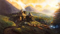 To purchase a print or the original painting, email chris This is an original Harry Potter oil painting by Christopher Clark, fine artist. Being a traditional landscape painter, I real Fanart Harry Potter, Harry Potter Wall Art, Harry Potter Painting, Arte Do Harry Potter, Harry Potter Wallpaper, Harry Potter Movies, Harry Potter Fandom, Hogwarts, Rúbeo Hagrid
