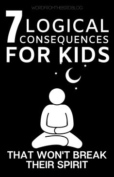 Kids Discover 7 Effective Consequence Ideas That Prepare Kids for the Real World-Word From The Bird Consequences that dont hurt your relationship with your kid Gentle Parenting, Kids And Parenting, Parenting Hacks, Peaceful Parenting, Unconditional Parenting, Parenting Classes, Parenting Styles, Parenting Quotes, Parenting Plan