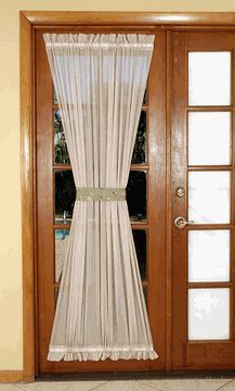 French Doors With Curtains french door curtains: 7 most stylish | french door curtains