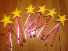 Pink-a-wands!!! We love this party favor, shared on www.facebook.com/pinkalicious :-)