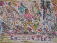 Choreograph I by David Koloane | DAVID KRUT PROJECTS