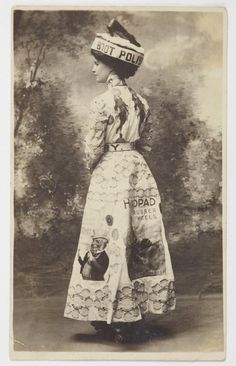 In 1906 Wellington's Elite Skating Rink, offered prizes of ball-bearing skates for the best fancy dress costume, the best poster costume and the most graceful skater. Best Fancy Dress Costumes, Cool Posters, New Zealand, Advertising, Skating Rink, Polish, Statue, Woman, Studio