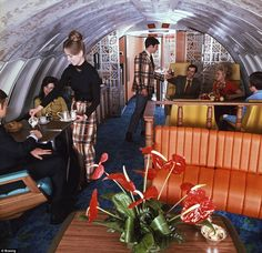 Inside business clash: Eye-watering photographs reveal leopard print cocktail bars, plush carpets and garish upholstery onboard the spacious aeroplane lounges of the Backpacking Europe, Europe Travel Tips, Travel Deals, Europe Packing, Traveling Europe, Packing Lists, Travel Hacks, Travel Packing, Travel Essentials