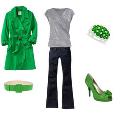 green!, created by chelseawate on Polyvore