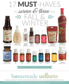 17 MUST-HAVES to survive & thrive the Fall & Winter - Homemade Wellness