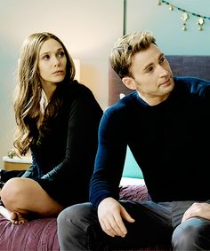 "teamamericass:  "" ""Steve Rogers and Wanda Maximoff in Captain America: Civil War  "" ""  Scarlet America"