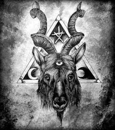 Baphomet. scapegoat. i know i am.