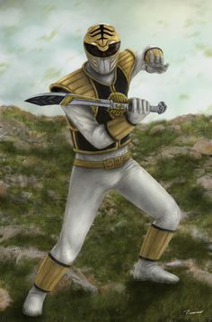 The White Ranger by ~thesadpencil on deviantART