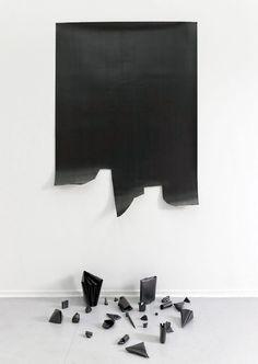by Diogo Pimentão Polymonochromo, paper & graphite, 2011
