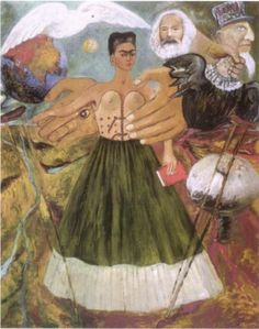 Frida Kahlo - Marxism Will Give Health to the Sick - 1954