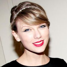 Salon Inspiration: Taylor Swift - Embellished Updo from #InStyle