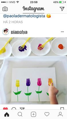 Mothers Day Crafts For Kids Preschool Spring Crafts For Kids, Summer Crafts, Fun Crafts, Art For Kids, Diy And Crafts, Arts And Crafts, Spring Craft Preschool, At Home Crafts For Kids, Pasta Crafts