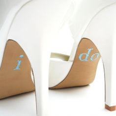 Ideas for personalizing your wedding shoes!