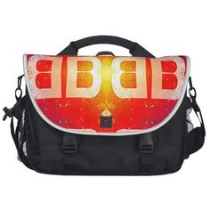 Check out David's latest designs on Zazzle Products including the BB Pattern Laptop Bag shown here.