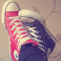 Converse. BEST shoes... No, coolest shoes ever. In my opinion.