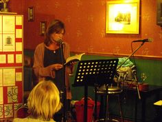 Maggie Sawkins reading at the launch of 'Said and done' at Tongues and Grooves, Portsmouth Brittle Star, Star Magazine, Tongue And Groove, Portsmouth, Burns, Product Launch, Reading, Reading Books