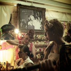 Vintage Hair Salon - This is so fun! I would love to go one day!