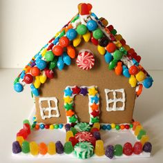 gingerbread houses | Decorate your own gingerbread house to take home! Light bulb shaped sprees