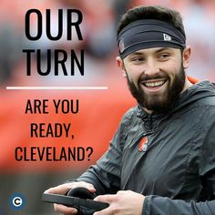 Cleveland Browns History, Cleveland Browns Football, Ou Football, Football Fever, Cleveland Rocks, Cleveland Ohio, Cleveland Indians, American Football, Baker Mayfield Nfl