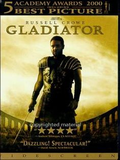 Gladiator - Loved this movie so much my husband had to talk me out of naming my son Maximus....