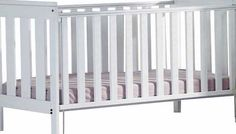 Saplings Suzie Cot - White A simple modern design. in smooth pale wood. the Suzie Cot has all round slats for great visibility. plus a drop side. two teething rails. and two position mattress base heights. Part of the Suzie col http://www.comparestoreprices.co.uk/baby-cots-and-cot-beds/saplings-suzie-cot--white.asp