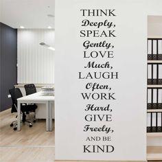 Evmanya - I Love My Wall Duvar Sticker Think... ( Sticker hediyeli! )