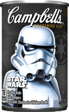 Your kids will love Campbell's® Star Wars varieties soups because they contain all of their favorite characters without preservatives or artificial flavors.