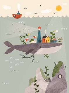 The Whale on Behance