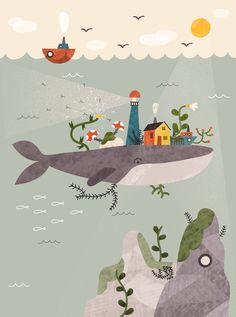 The Whale by Pau Morgan