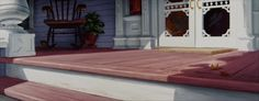 Animation Backgrounds: LADY AND THE TRAMP