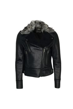 Dark rider jacket.