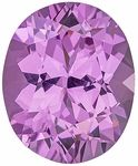 This Genuine Spinel Gemstone Displays A Medium Icy Pink. Excellent Life, Cut