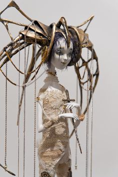 """DOLLART-2012"" (часть вторая) - Максим Big Eyes Artist, Sketches Tutorial, Creepy Dolls, Doll Repaint, Doll Maker, Cute Dolls, Blythe Dolls, Cute Drawings, Art Blog"