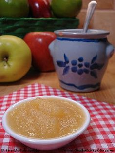 The Dutch Table: Appelmoes. Ate it at the dinner table almost every night...