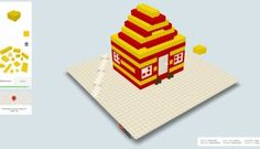 Build With Chrome: Create Lego direct from browser - http://www.gadget.com/2014/01/29/build-with-chrome/ build lego online, build with chrome, chrome experiment, the lego movie