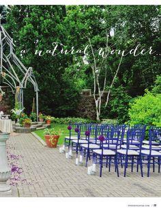 Contemporary Garden Wedding Style Lookbook