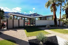 Twin Palms Butterfly | Architect: William Krisel (1957) | Location: Palm Springs, CA