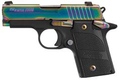 FAMILY:P938 SeriesMODEL:P938 EdgeTYPE:Semi-Auto PistolACTION:Single ActionFINISH:StainlessSTOCK/FRAME:Alloy FrameSTOCK/GRIPS:Black G10CALIBER/GAUGE:9mmCAPACITY:6+1# OF MAGS:1MAGAZINE DESC:6 rd.BARREL: