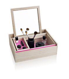 Balsabox Modern Jewelry Box by Nomess Copenhagen (Design Milk) Jewelry Mirror, Jewelry Tray, Jewellery Boxes, Jewellery Storage, Pink Jewelry, Jewelry Armoire, Wooden Jewelry, Jewelry Holder, Silver Jewellery