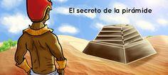 cuento interactivo sobre la construcción de las pirámides