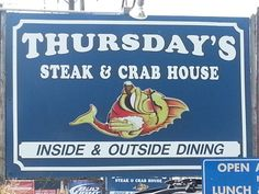 Thursday's in Galesville, MD #cocktails #caribbean #steak #crabs #fun #party #boatdrinks #boats #sailing